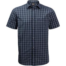 Jack Wolfskin Hot Springs Skjorte Herrer, blå